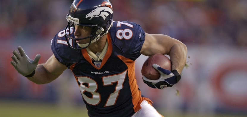 Ed McCaffrey of the Denver BroncosPhoto: © Rich Clarkson & Associates, LLC
