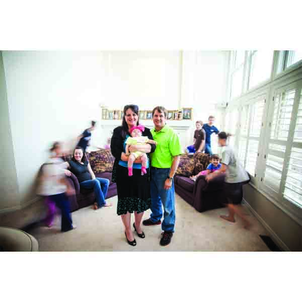 Sweeter By The Dozen: Highlands Ranch Couple Welcomes 12th