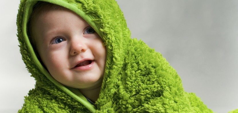 green cloth for babies