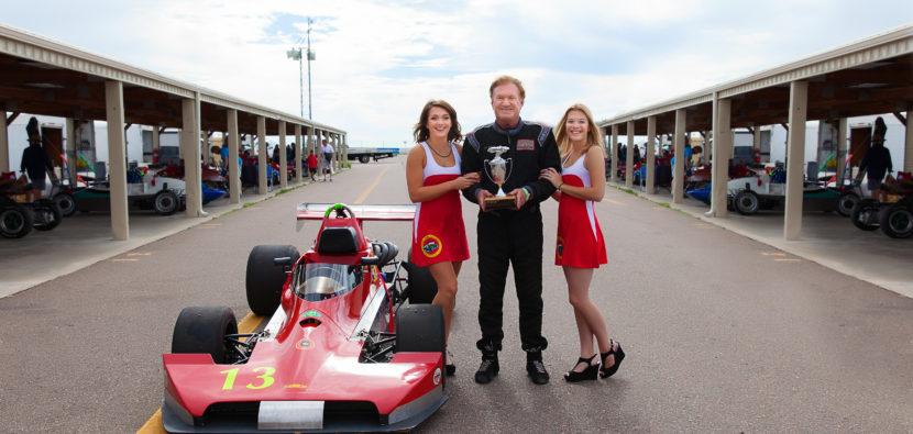vintage racecar driver and instructor Joe Bunton