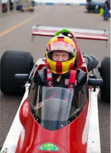 Joe Bunton, vintage racecar driver and instructor