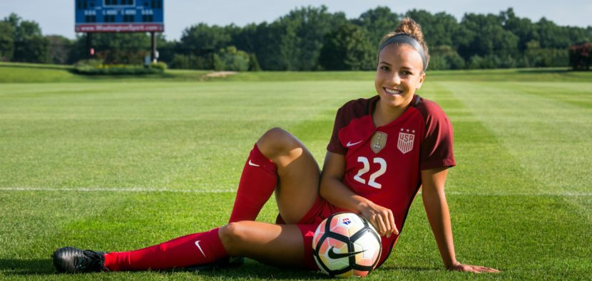 a4be61b3082 On Goal with Mallory Pugh