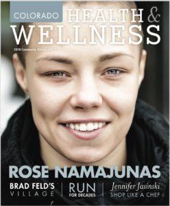 Rose Namajunas Colorado Health & Wellness magazine