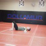 Rose Namajunas UFC rests for a minute