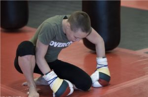 Rose Namajunas training Denver