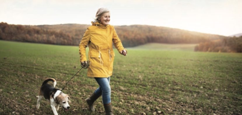 Coasting Over the Hill Three habits to become a happy, healthy senior