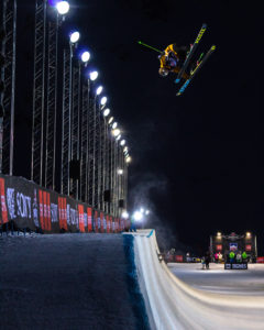 Lyman Currier, World Cup finals in Tignes, France