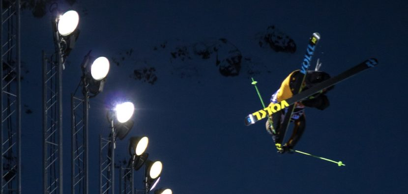 Lyman Currier, halfpipe for freestyle skier